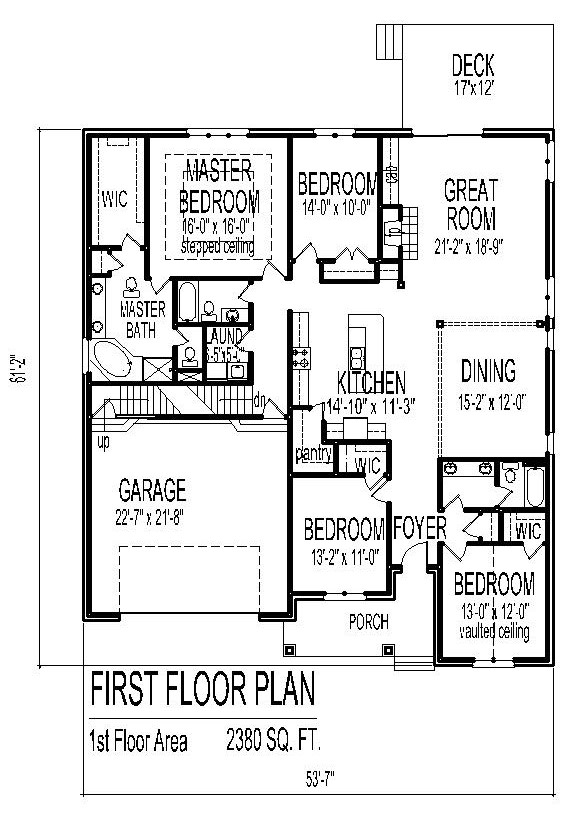 House designs single floor low cost house floor plans 3 for 3 bedroom beach house designs