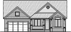 Luxurious 2 BR 2 Bath Ranch House Plans with 2 Car Garage Charleston South Carolina Columbia West Raleigh Winston Salem Durham North Carolina Charlotte Greensboro
