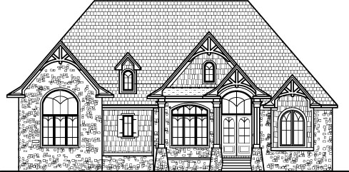 5 bedroom house plans open floor plan design 6000 sq ft for Two story house drawing