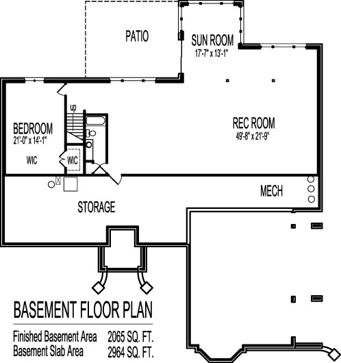 Floor plan 3 bedroom two storey house - Voobay Homes | one search