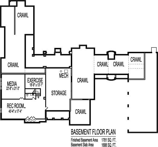 8000 square foot house floor plans large 6 six bedroom for 8000 sq ft house plans