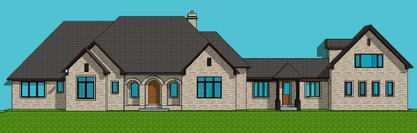6 Bedroom Single Story House Plans on Small House Plans With Porches