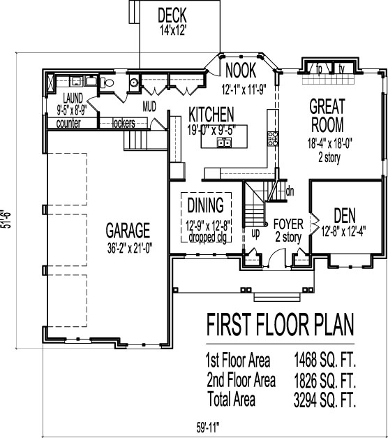 House drawing 2 story 3000 sq ft house designs and floor for 3000 sq ft apartment floor plan