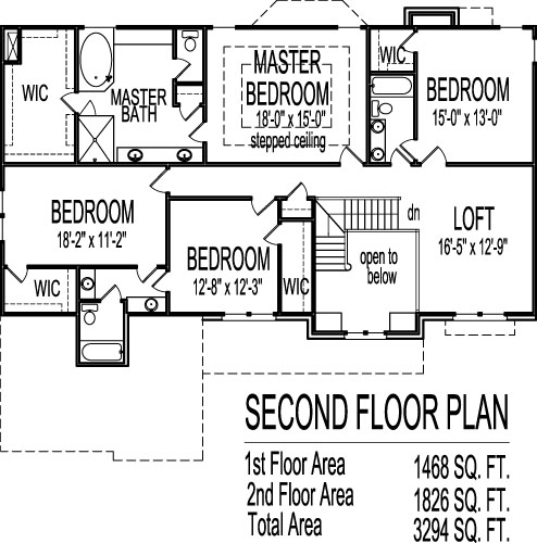 House Drawing Story Sq Ft House Designs and Floor Plans    Arts and Crafts Two Story Bath House Plans Sq Ft w  Basement Los
