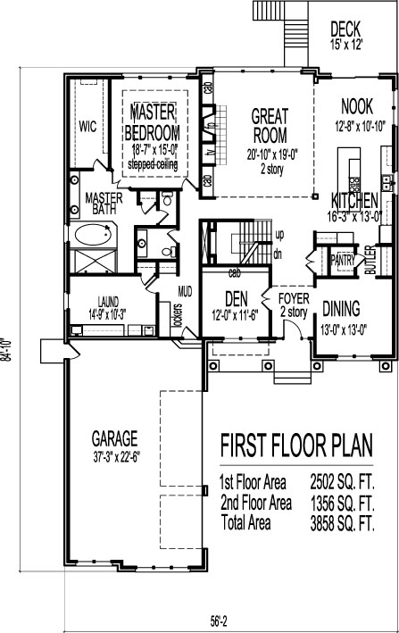4 Bedroom 2 Story Bungalow Shingle House Plans South Boston Worcester  Massachusetts Lowell Springfield Baltimore Maryland