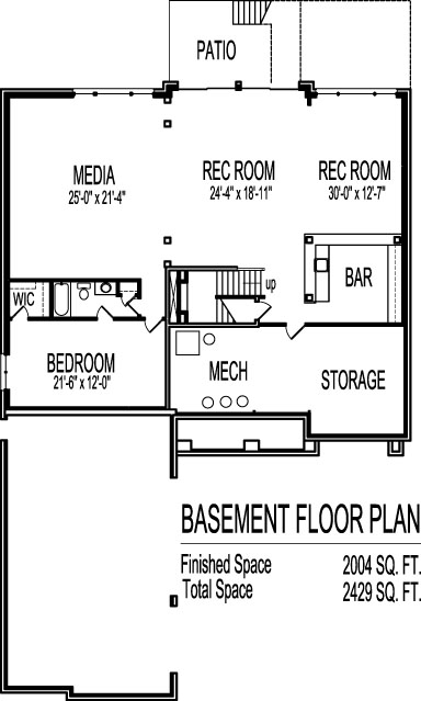4 Bedroom House Plans With Basement Manaldrivingschoolcom