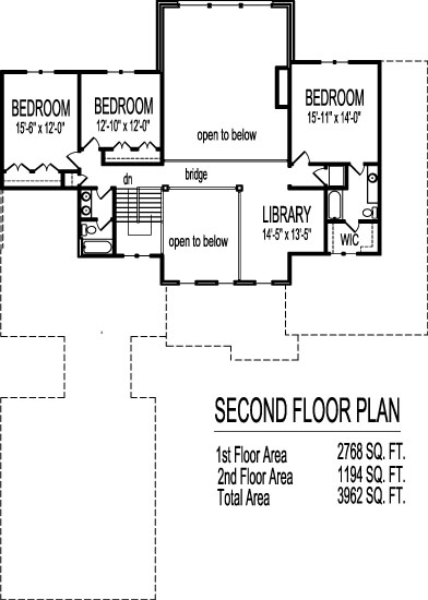 Open Floor Plan Contemporary House Plans 4000 SF Two Story ...