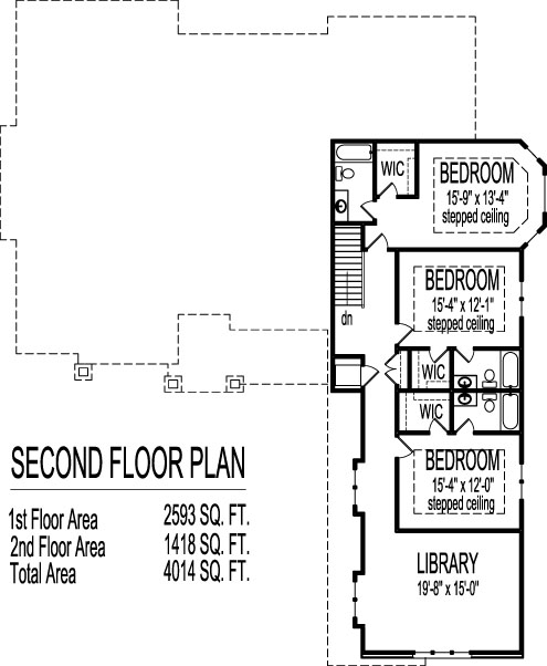 modern bungalow house floor plans 4 bedroom 2 story 3 car garage