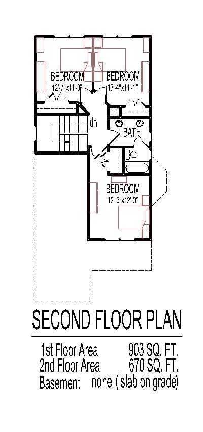 simple tiny house floor plans with 3 bedroom 2 story affordable