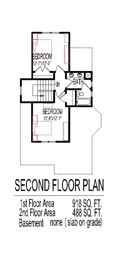 Simple two story house plans find house plans for Simple 2 story house plans