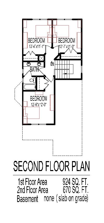 Narrow Cottage Plans | 2 Story Small Home Design Narrow Lot Tiny House Floor Plans 4 Bedroom
