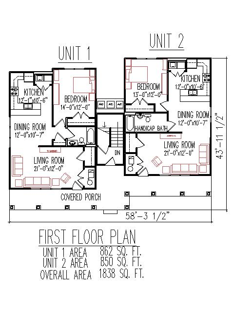 House plans for handicapped house design plans for Handicap floor plans