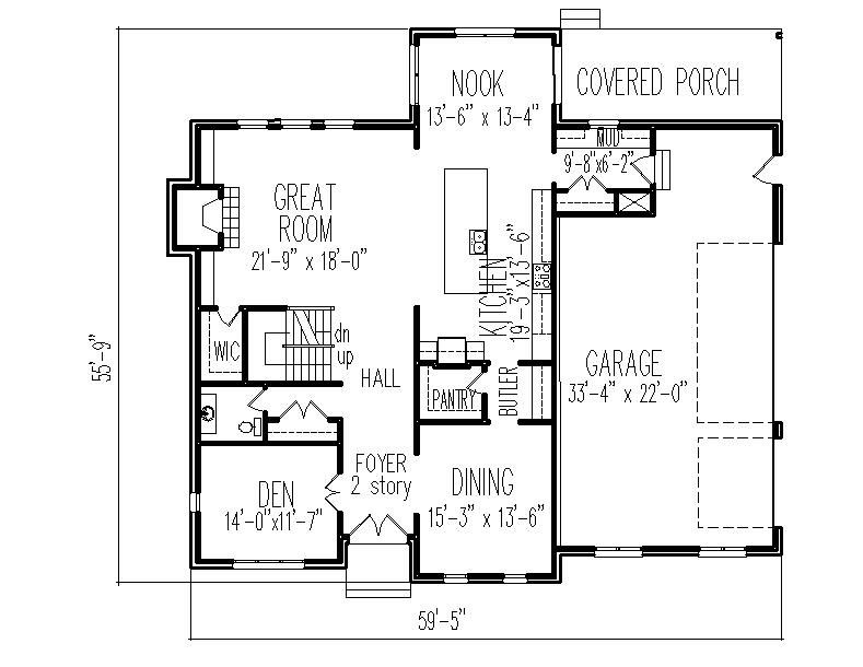 2 story french country brick house floor plans 3 bedroom House plans ca