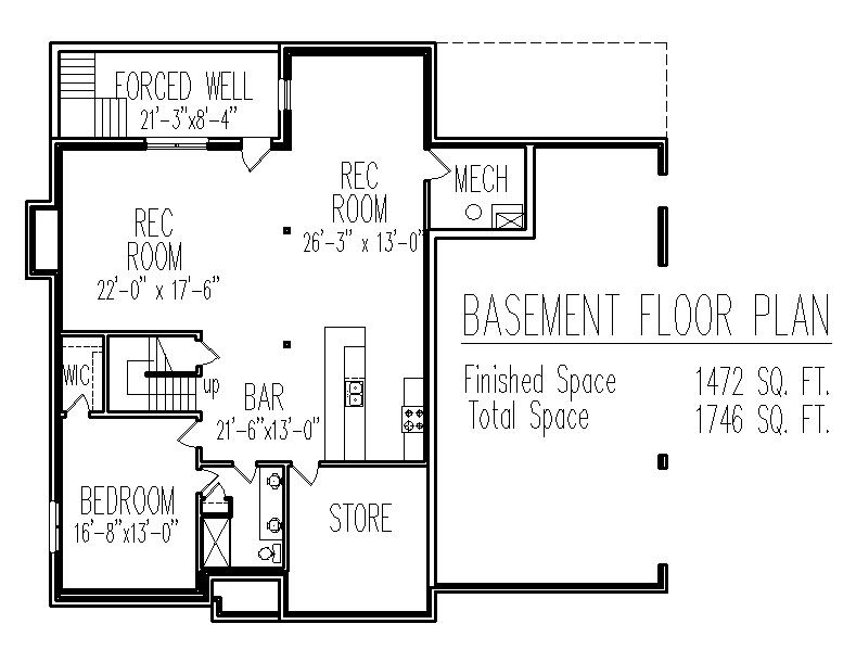 2 story french country brick house floor plans 3 bedroom for New mexico house plans