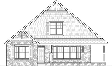 House Plans Luxury Bungalow 3 Bedroom 1 Story 2500 Sf on single story house plans