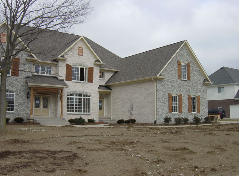 4 Bedroom 2 Story 5000 Sq Ft House Floor Plans Stone And Brick Indianapolis  Ft Wayne