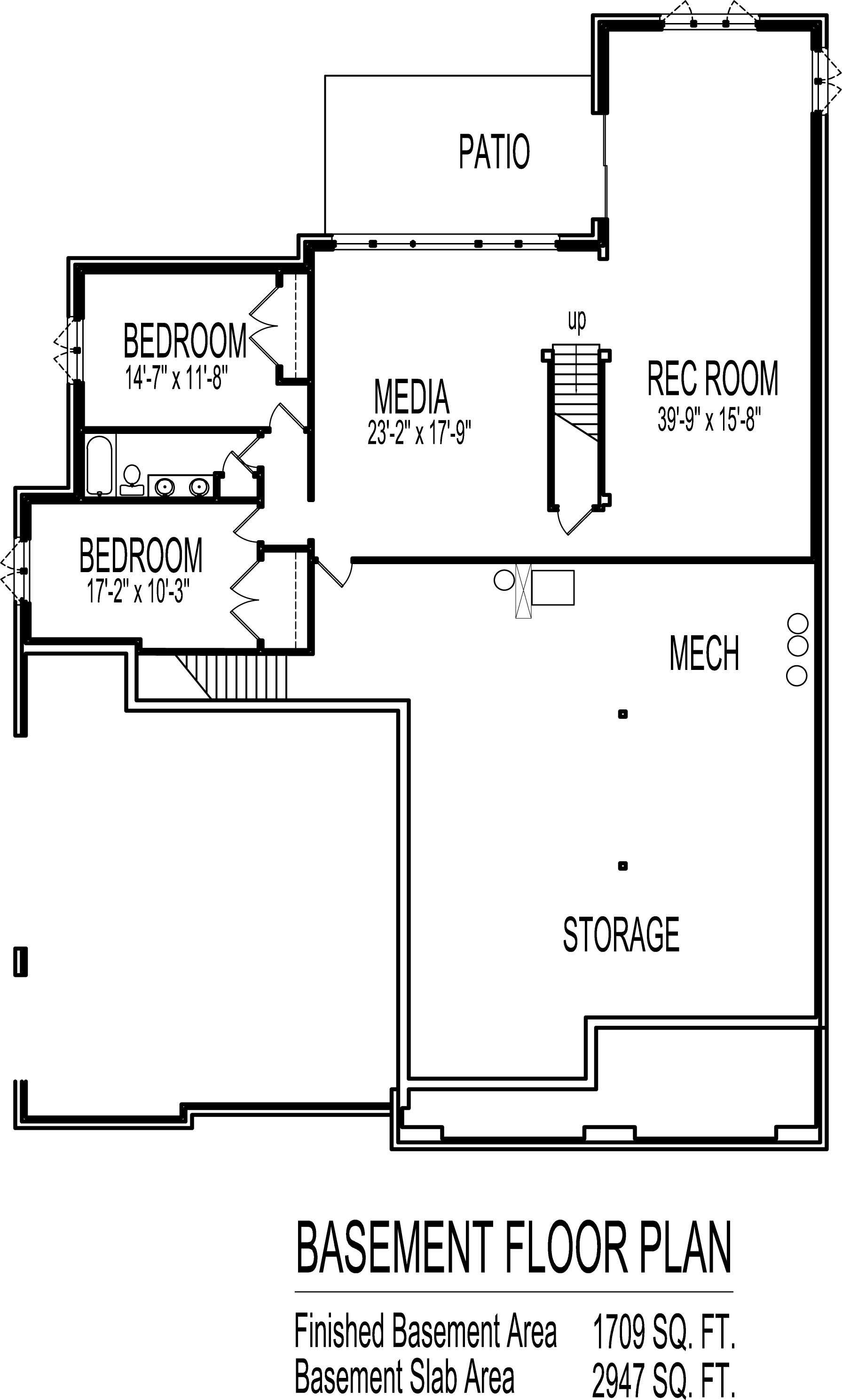 English Cottage House Floor Plans European 4 Bedroom 1 Story Ranch