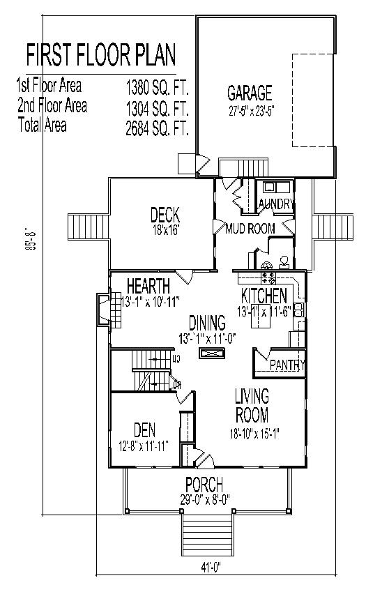 Country farm homes open floor plan farmhouse 2500 sq ft 4 for 2500 sq ft floor plans