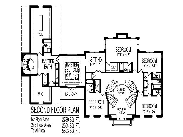 grand double staircase house floor plans 5 bedroom 2 story 4 car garage