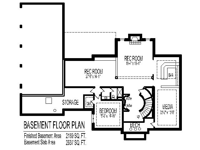 Colonial Home Plans Circular Stair 5500 SF 2 Story 5 Bedroom 6 Bath 4 ...