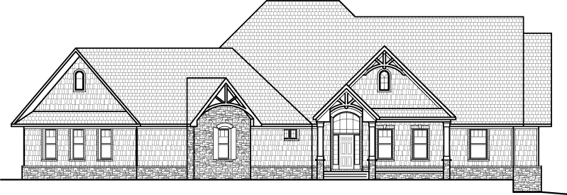 Ranch House Floor Plans with Angled Garage 2500 Sq Ft Bungalow 3 Bedroom