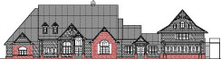 Big Craftsman house Bungalow 1 story 2 bath house plans front porch Jacksonville Florida FL Tallahassee Portland OR Oregon Eugene Virginia Beach Virginia Arlington Wichita Kansas KS Topeka