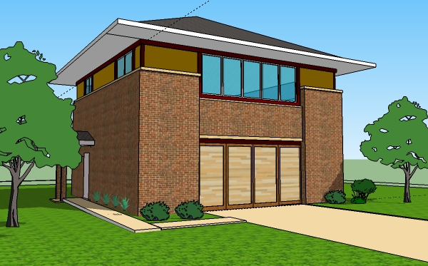 Small 3 bedroom house floor plans design slab on grade for One story apartments