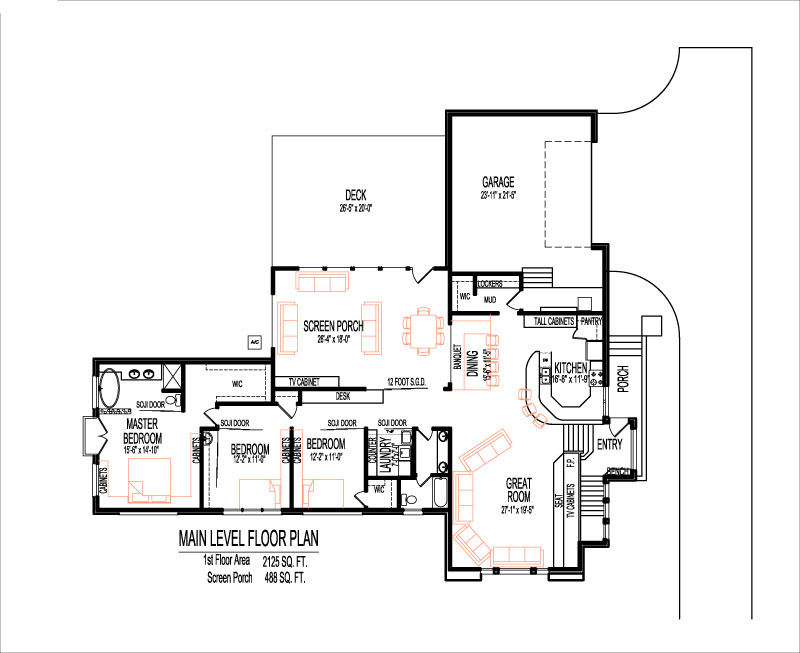 4000 sq ft house floor plans split level 5 bedroom design