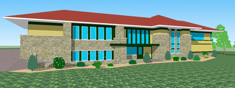 Cool House Floor Plans Modern Split Level 4000 Square Feet 5 Bedroom ...