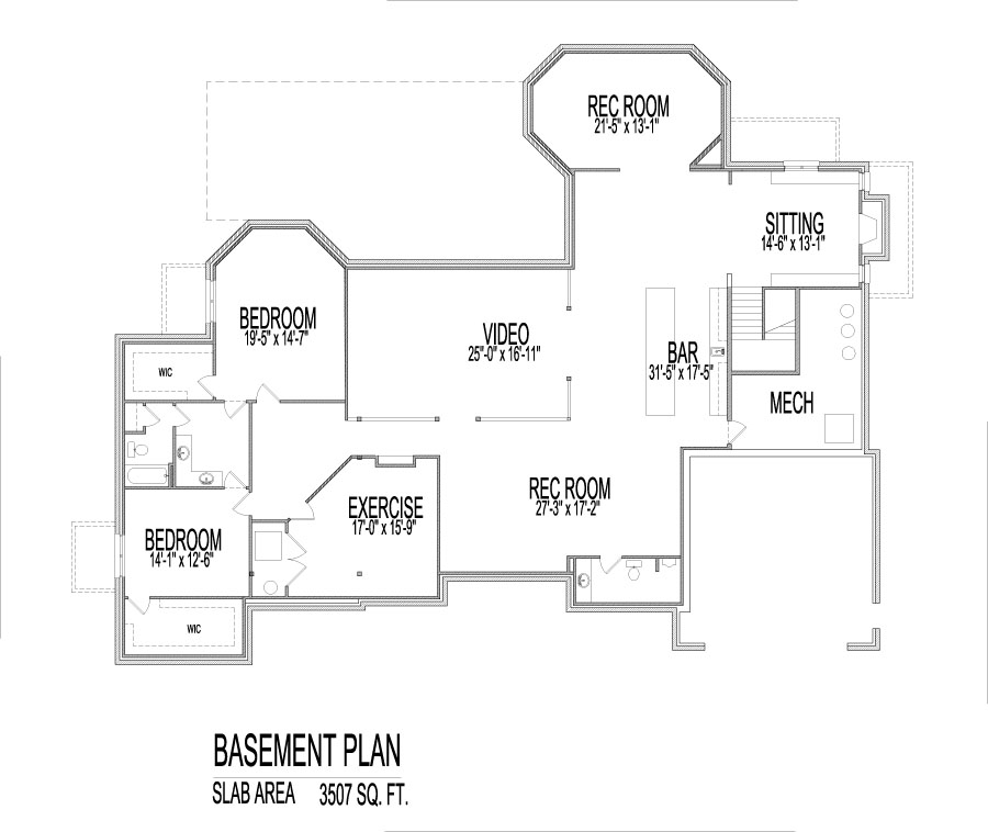4500 sq ft ranch house plans house design plans 4500 sq ft house plans