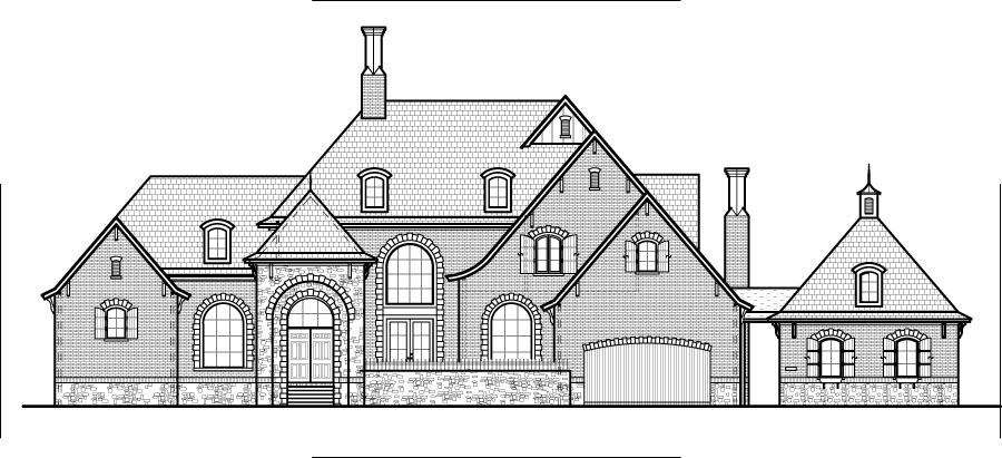 Gothic Victorian House Plans Designs 3 Bedroom 2 Story 4500 Sq Ft Des ...