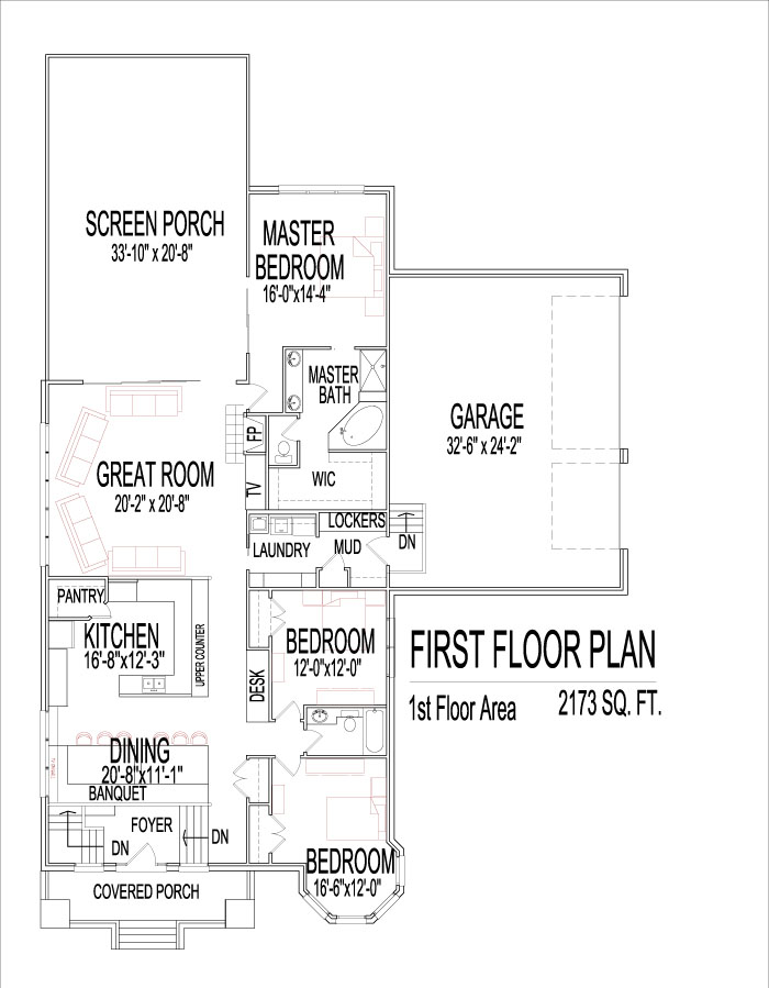 2200 Sq Ft Open Floor Plan Three Bedroom Architect Designed Greenfield Indiana South Bend Anderson Indiana Ft Wayne Chicago Rockford Champaign Decatur Illinois Peoria Springfield