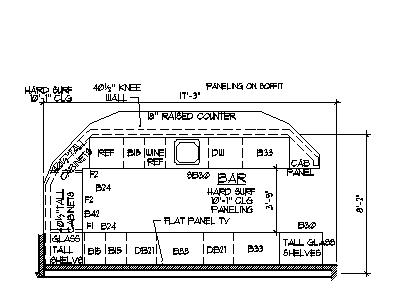 Home bar plans design blueprints drawings back bar counter section home bar plans blueprints design drawing details and finishing denver colorado memphis tennessee nashville malvernweather Images