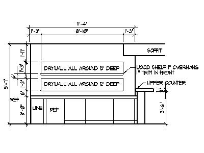 Home bar ideas plans basement bar designs blueprints drawings photos - How to design a bar ...