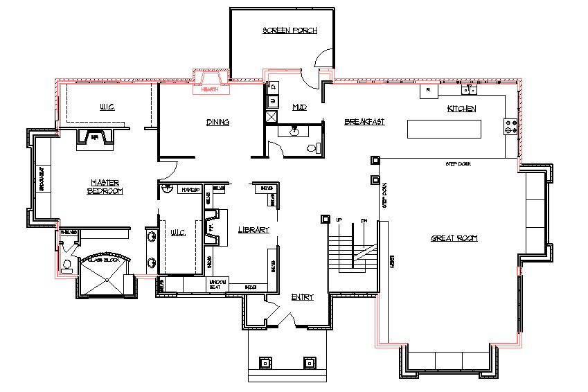 Ranch house addition plans ideas second 2nd story home Home additions floor plans