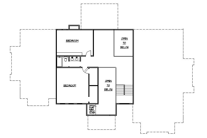 Ranch house addition plans ideas second 2nd story home for Second floor addition floor plans