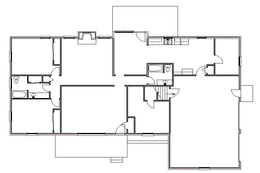 Ranch house addition plans ideas second 2nd story home for Addition floor plans