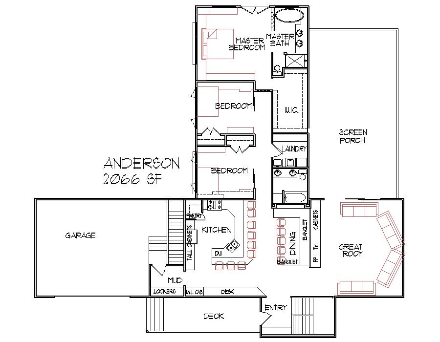 2000 Square Foot Home Plans Floor Plans
