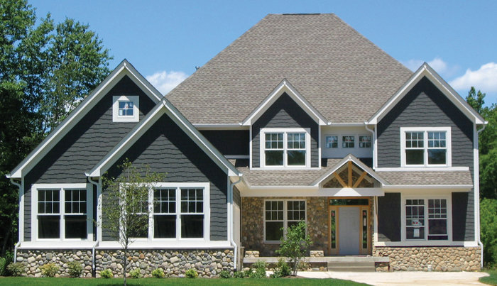 House Plans 3800 SF 2 Story 4 Bedroom Stone Shingle House Plans Norfolk  Chesapeake Virginia City