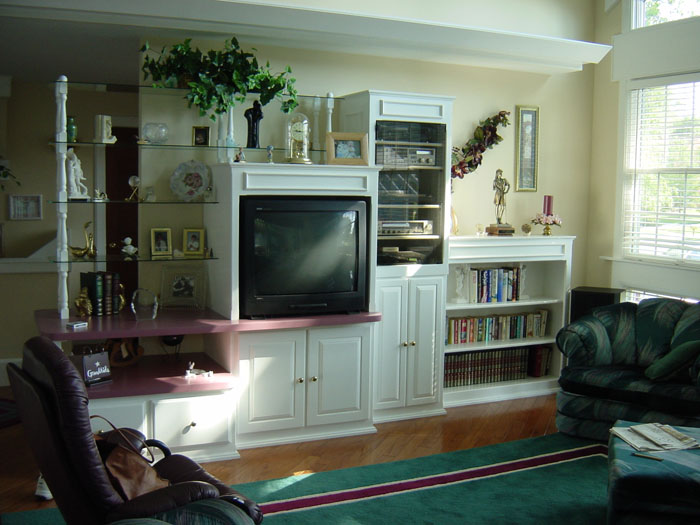 TV Cabinet Designs Built In Wall Units Bookcases Pictures Ideas