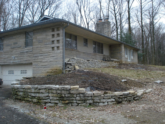 Typical 1950s Ranch House Prior To Remodeling And Home