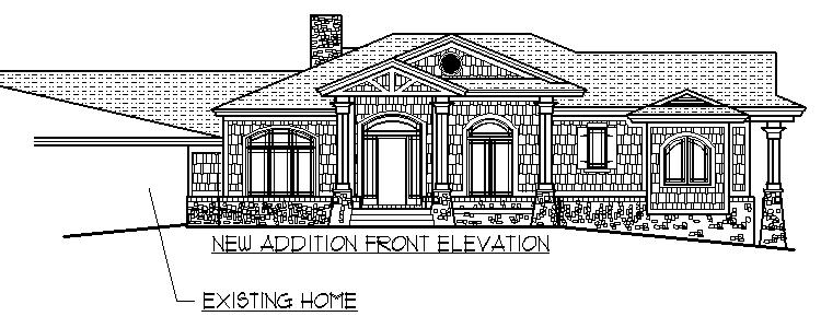 1950 Home Remodeling Addition Craftsman Front Porch Drawings Ideas