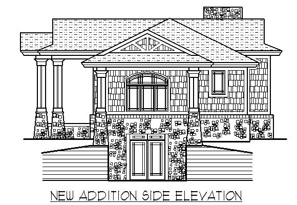 TwoStory Proposed Remodel Design Plan Of The West End HomeRemodeling 2