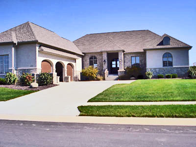 8000 square foot house floor plans large 6 six bedroom for Large one story homes